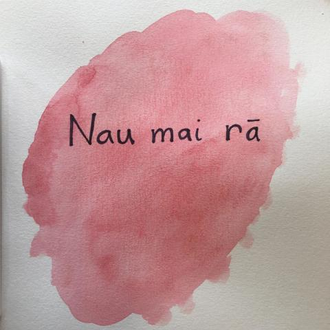 "Celebrating Māori language week by sharing one word or phrase every day that our whānau is using in our home. ""Nau mai rā,"" t"
